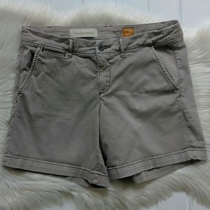 Anthropologie Grey Chino Fit/Hyphen Shorts